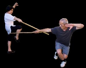 Técnica de Bastón Taizenkat